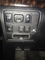 Toyota Land Cruiserкнопка переключения на газ
